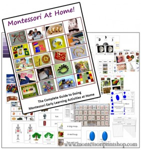Montessori Doma – kniha a materiály k vytištění – soutěž!! :)