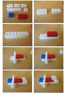 Lego podle jednoduchého domácího návodu