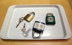 Klíčky a zámky